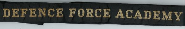 DEFENCE FORCE ACADEMY' - RAN Tally Band