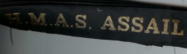 HMAS ASSAIL' - RAN Tally Band