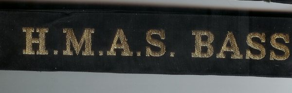 HMAS BASS' - RAN Tally Band