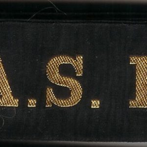 HMAS HUON' - RAN Tally Band