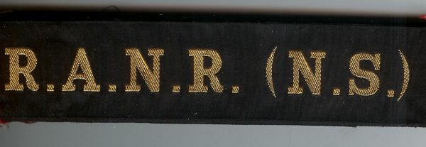 R.A.N.R. (N.S.)' - RAN Tally Band