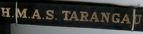 HMAS TARANGAU' -RAN Tally Band
