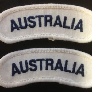 AUSTRALIA - Shoulder Flash