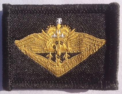 Returned from Active Service Badge