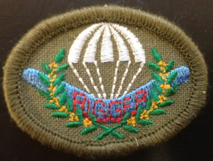 Parachute Rigger Patch