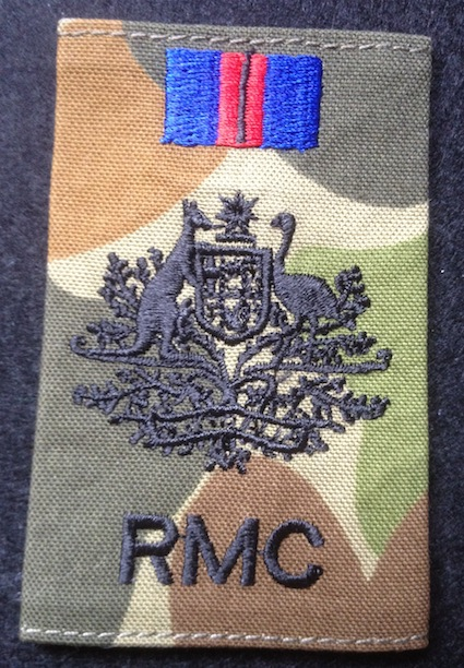 Warrant Officer Class One - RMC