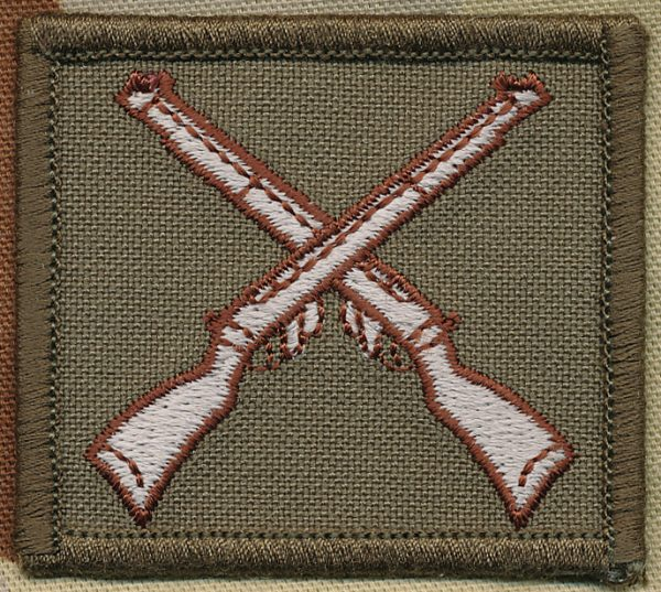 Marksman's Badge - Khaki