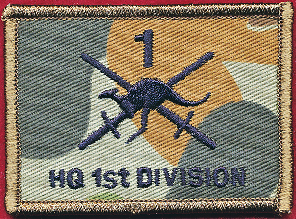 Headquarters 1st Division (Field)