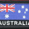 Australian National Flag - BLACK