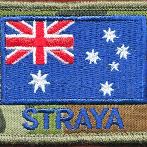 "Australian National Flag  - ""STRAYA"""
