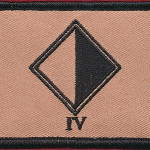 4 Regt - (Field Patch)