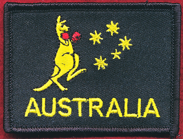 AUSTRALIA patch - Boxing Roo (#1)