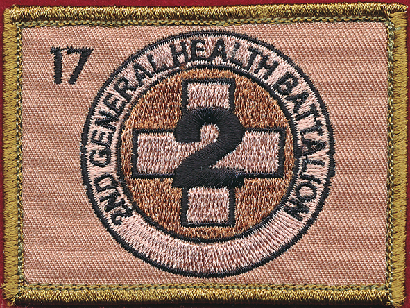 2nd Health Support Battalion.