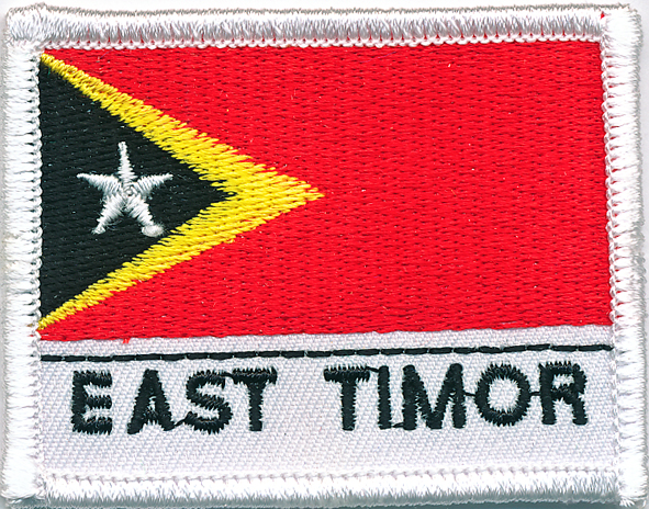 East Timor Flag Patch (Mess Dress)