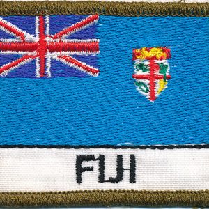 Fiji Flag Patch (Polyester)