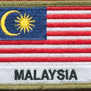 Malaysia Flag patch (Shoulder)