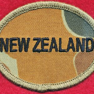 New Zealand Flag Patch - DPCU