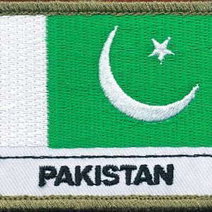 Pakistan Flag Patch - Shoulder