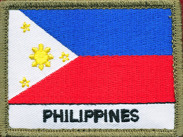 Phillipines Flag Patch (Shoulder)