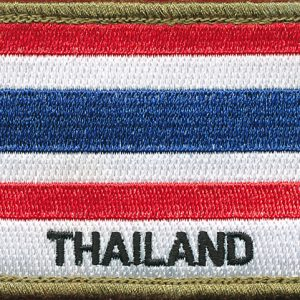 Thailand Flag Patch (Shoulder)