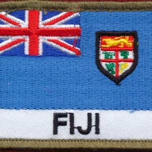 Fiji Flag patch  (Shoulder)