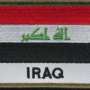 Iraq Flag Patch  (Shoulder)