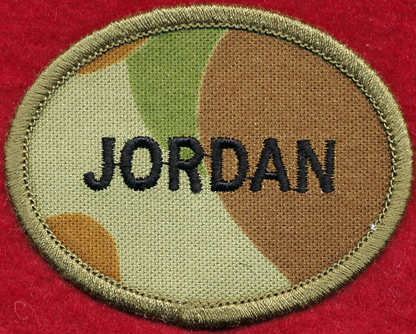 JORDAN - Oval Patch (Biscuit) DPCU