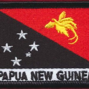 Papua and New Guinea Flag Patch - (Air Force)