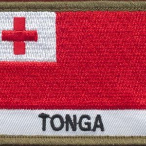 TONGA Flag Patch
