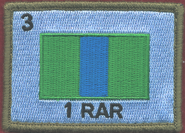 1st Battalion, Royal Australian Regiment - (1RAR)