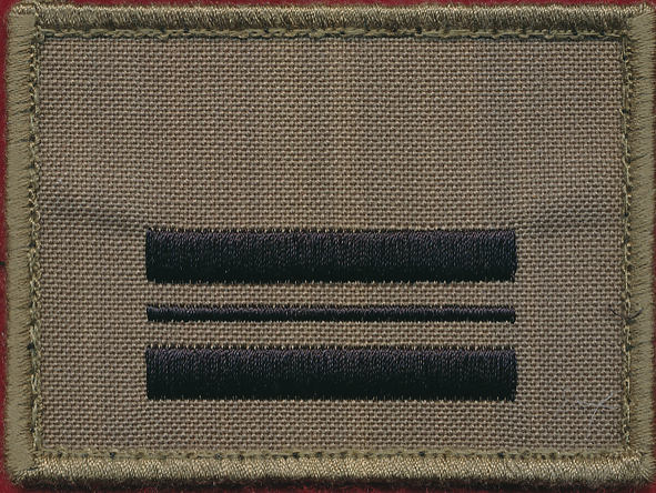 Squadron Leader (SQNLDR) - TBAS Rank patch