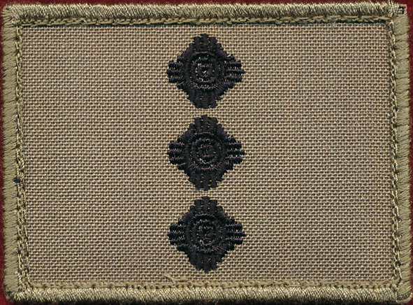 CAPT  - TBAS Field Shoulder Rank Patch