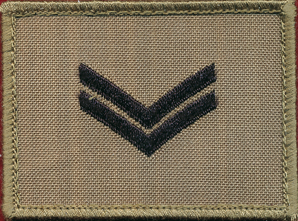 CPL  - TBAS Field Shoulder Rank Patch