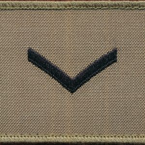 LCPL  - TBAS Field Shoulder Rank Patch