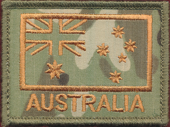 Australian National Flag - Multicam (Green)