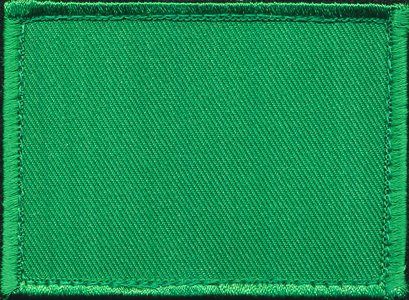 Course Colour Patch - ARES GS Officer (Green)