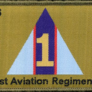 1st Aviation Regiment Patch