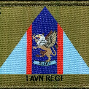 1st Aviation Regiment Trial Patch