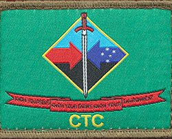 Combat Training Centre Sleeve patch
