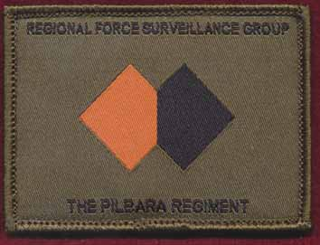 Regional Force Surveillance Group - The Pilbara Regiment