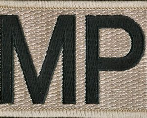 Military Police Patch (Subdued) (#2)