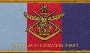 Australia's Federation Guard (AFG) (Navy)
