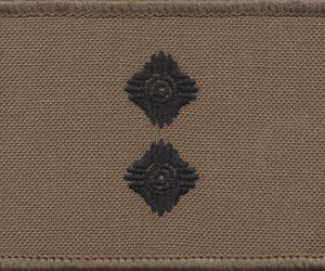 LIEUTENANT (LT) - TBAS Field Shoulder Rank Patch