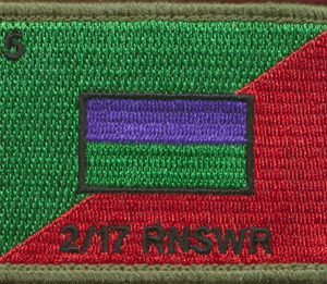 2nd/17th Royal New South Wales Regiment Patch