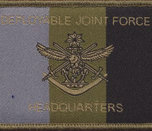 Deployable Joint Force - HQ Patch (Army)