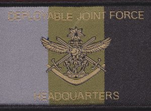 Deployable Joint Force - HQ Patch (RAAF)