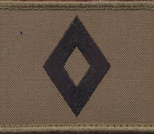 CADET UNDER OFFICER  - TBAS Field Shoulder Patch