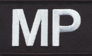 Joint Military Police Unit Patch (Navy)