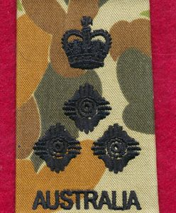 BRIGADIER Rank Slide - DPCU (S)